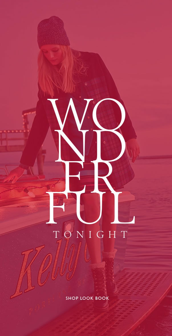 WONDERFUL TONIGHT SHOP WOMEN'S LOOK BOOK