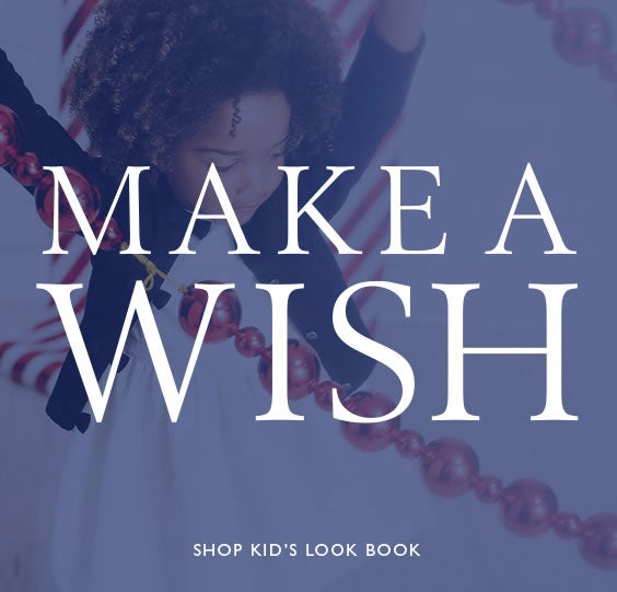 MAKE A WISH SHOP KID'S LOOK BOOK
