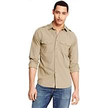 SLIM FIT CAMP SHIRT