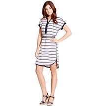 UTILITY STRIPE DRESS