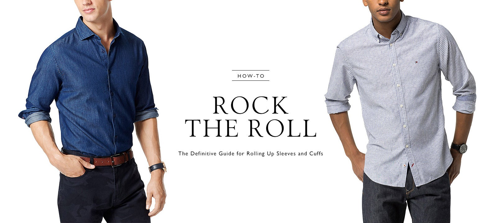 How To Rock The Roll Tommy Hilfiger Usa
