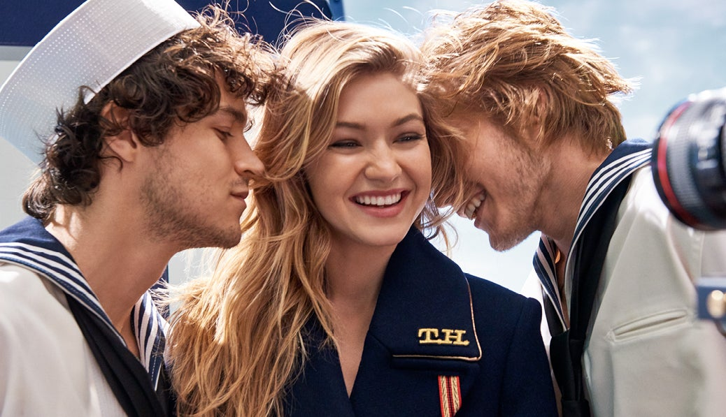 The Girl, a new fragrance by Tommy Hilfiger starring Gigi Hadid