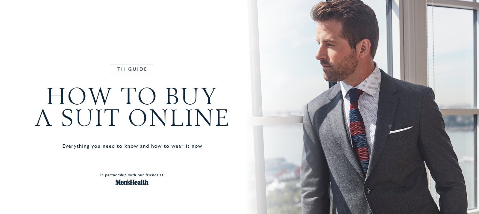 How To Buy A Suit Online With Mens Health | Tommy Hilfiger USA