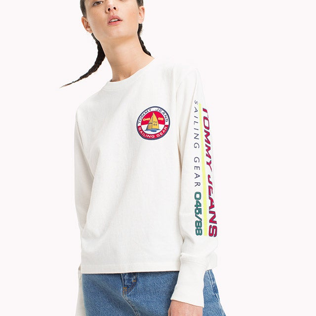 CAPSULE COLLECTION LONG-SLEEVE SAILING T-SHIRT