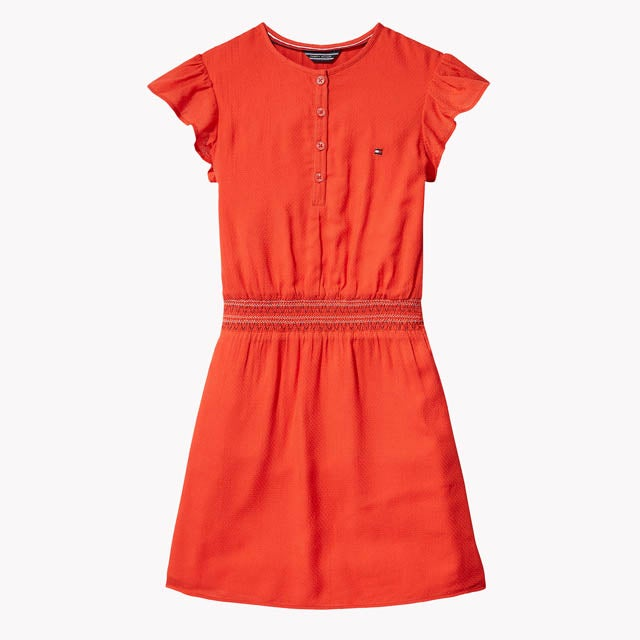 TH KIDS SMOCK DRESS