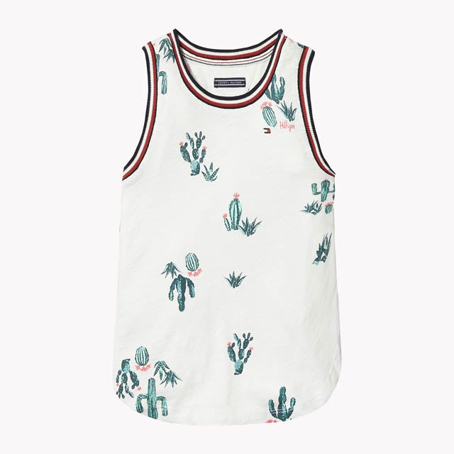 TH KIDS CACTUS SLEEVELESS TOP