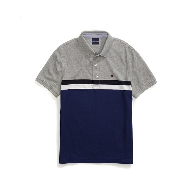 CUSTOM FIT COLORBLOCK PERFORMANCE POLO