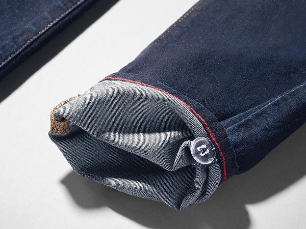 870e5b375 Image shows jean featuring a hem that can be adjusted 2-4 inches to account
