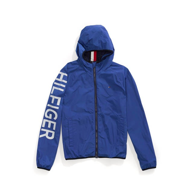 Hooded Signature Windbreaker