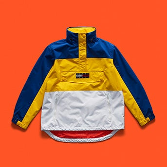 3b63d4bf4 Tommy Jeans Outdoors Colorblock Popover ...