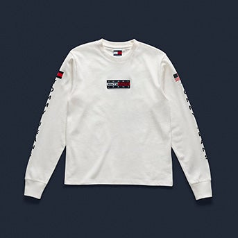 9d5bc4c4 Tommy Jeans Outdoors Long-Sleeve T-Shirt ...